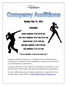Audition Poster 2015